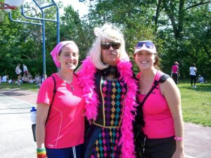 Cross-dresser at DC Avon Walk 2010